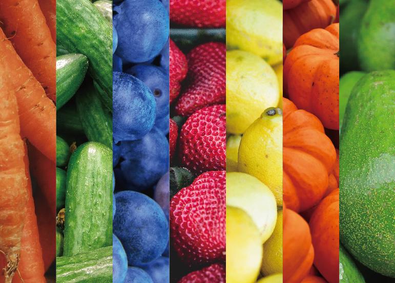 カラフルな果実
