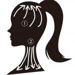 白髪を減らす頭皮マッサージ