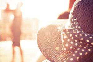 白髪を減らす紫外線対策