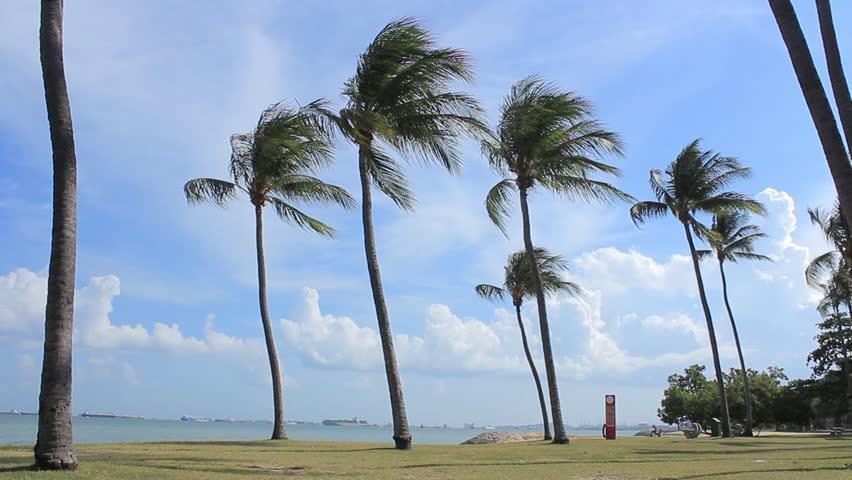 風をかける位置