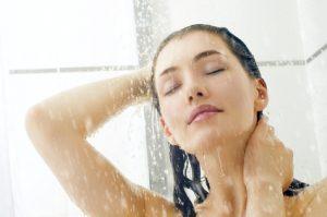 シャンプー前にしっかりすすぎ洗い