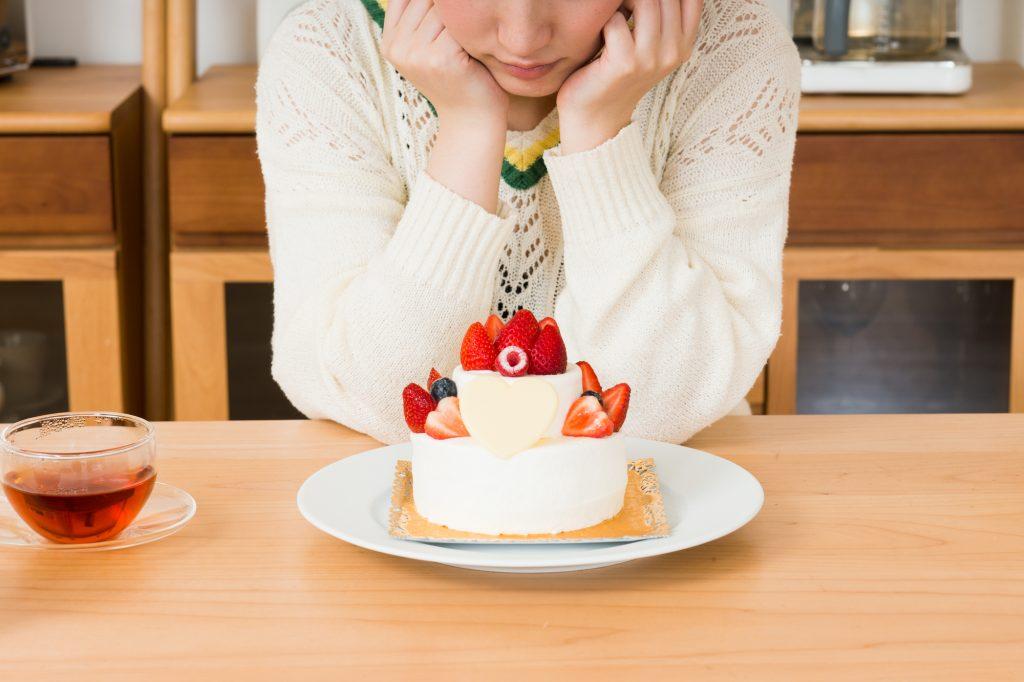 ホールケーキはおすすめしません