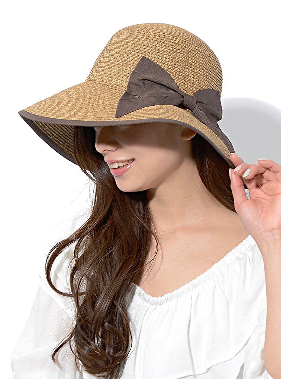 帽子で紫外線対策