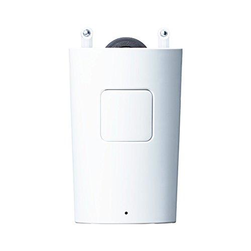 スマホと連動させることで、自動でカーテンを開閉することができるユニークなアイテム。