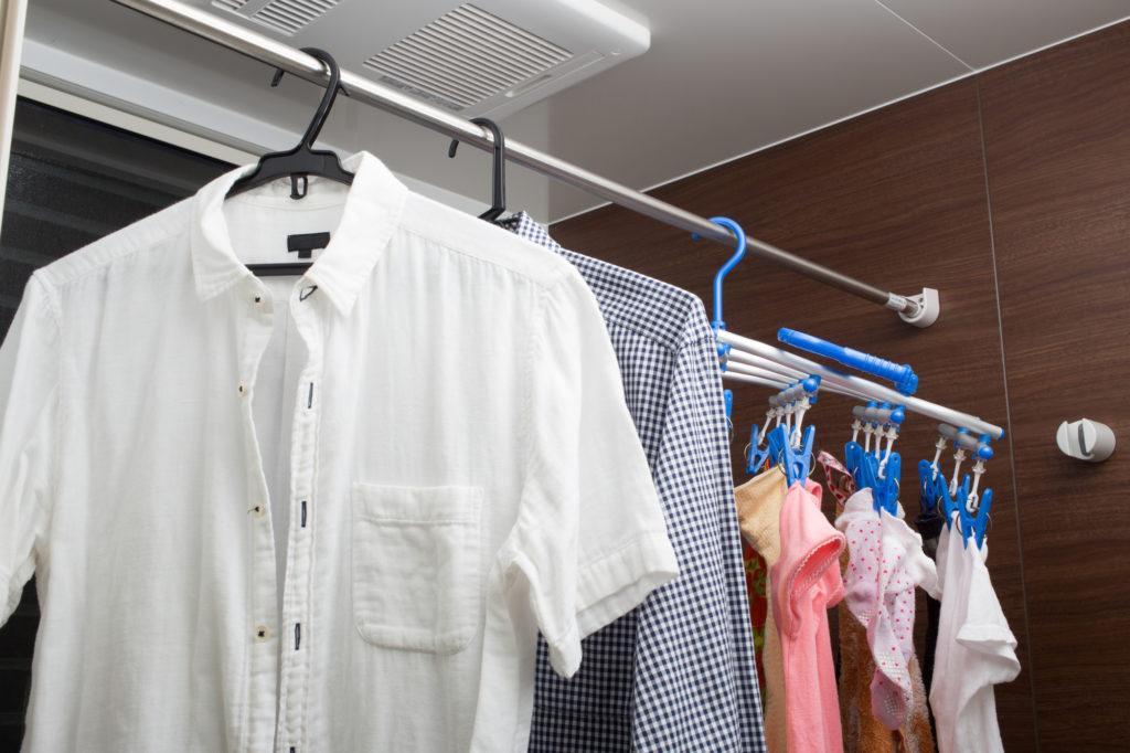 もともと湿気が多い場所だからこそ、乾燥に適した構造になっていて、洗濯を干すにも最適な場所なのです。