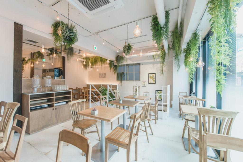 ニューヨークスタイルの「BOTANIST café」