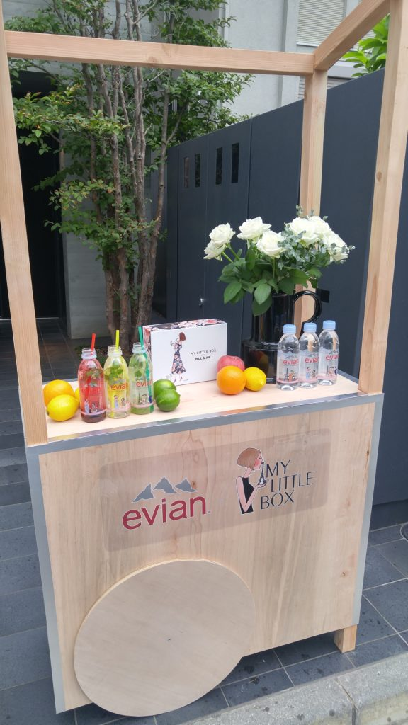 evian×My Little Box