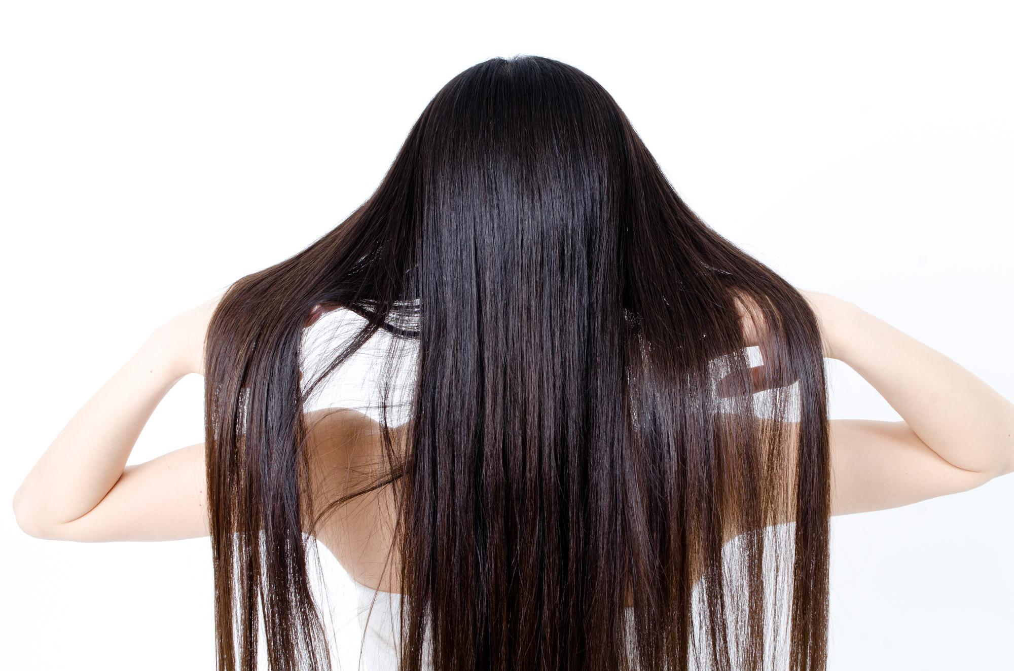 髪が長すぎる