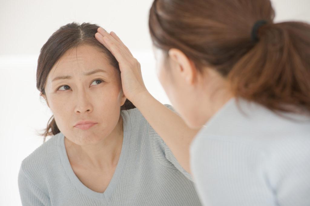 40代女性の髪の悩み