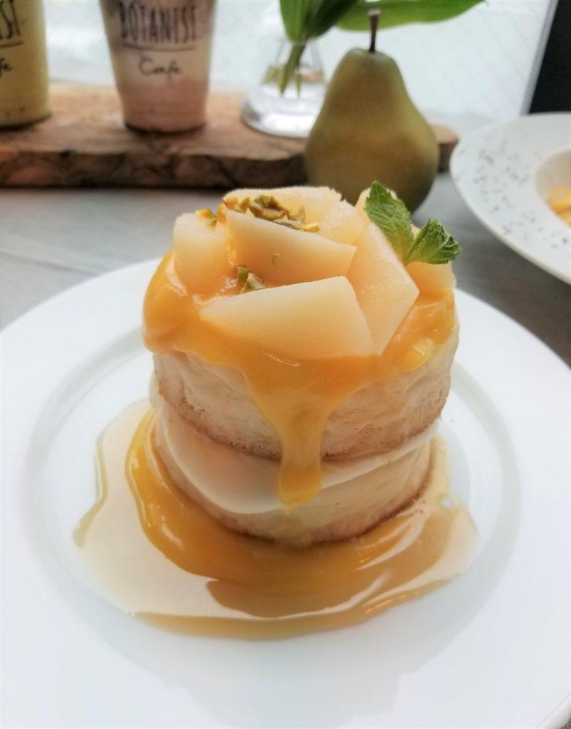 ラフランスパンケーキ