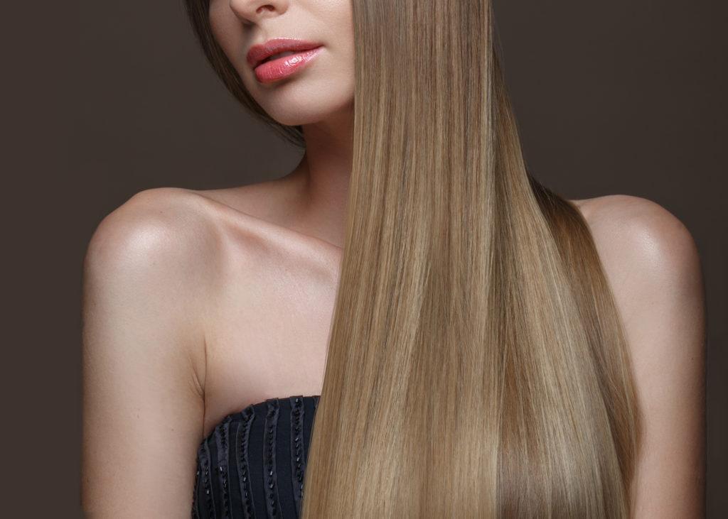 サラサラの髪の毛