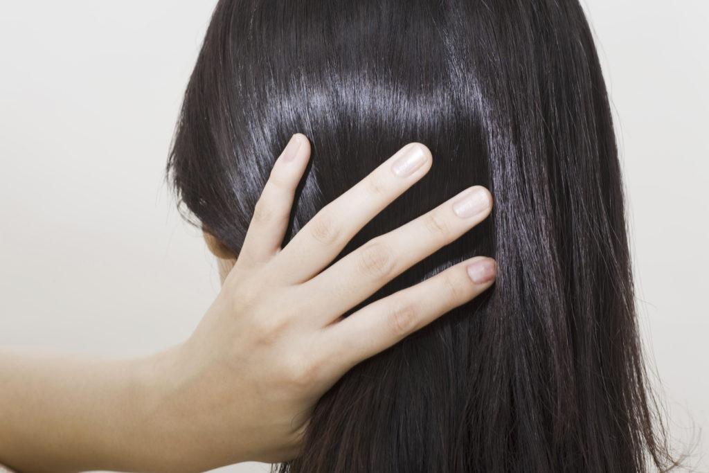 柔らかい髪