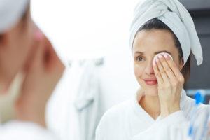 朝の洗顔代わり